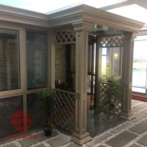 深圳135欧式阳光房型材